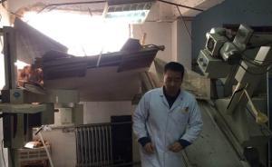 郑州一医院放射科和太平间遭强拆尸体被埋,征收办:不清楚