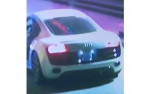 上海无牌奥迪车撞死一男子后逃逸,死者女友发微博求助