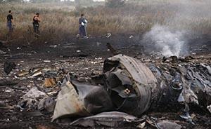 直击马航坠机现场:遇难者遗体散落一地,现场枪炮声不断