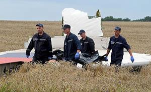 "MH17坠机现场遭破坏,亲俄派被指""抢走""38具尸体"