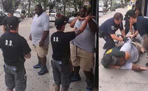纽约一男子被怀疑非法贩烟,遭警方锁喉后窒息身亡