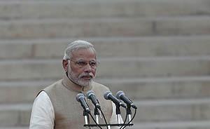 印度总理莫迪8月底访问日本,日媒高调热炒日印关系