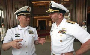 海军司令吴胜利:我们绝不会谋求岛礁军事化,但绝不会不设防