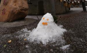 建国以来广州城区首次下雪,广东广西风雨霰雪同时上演