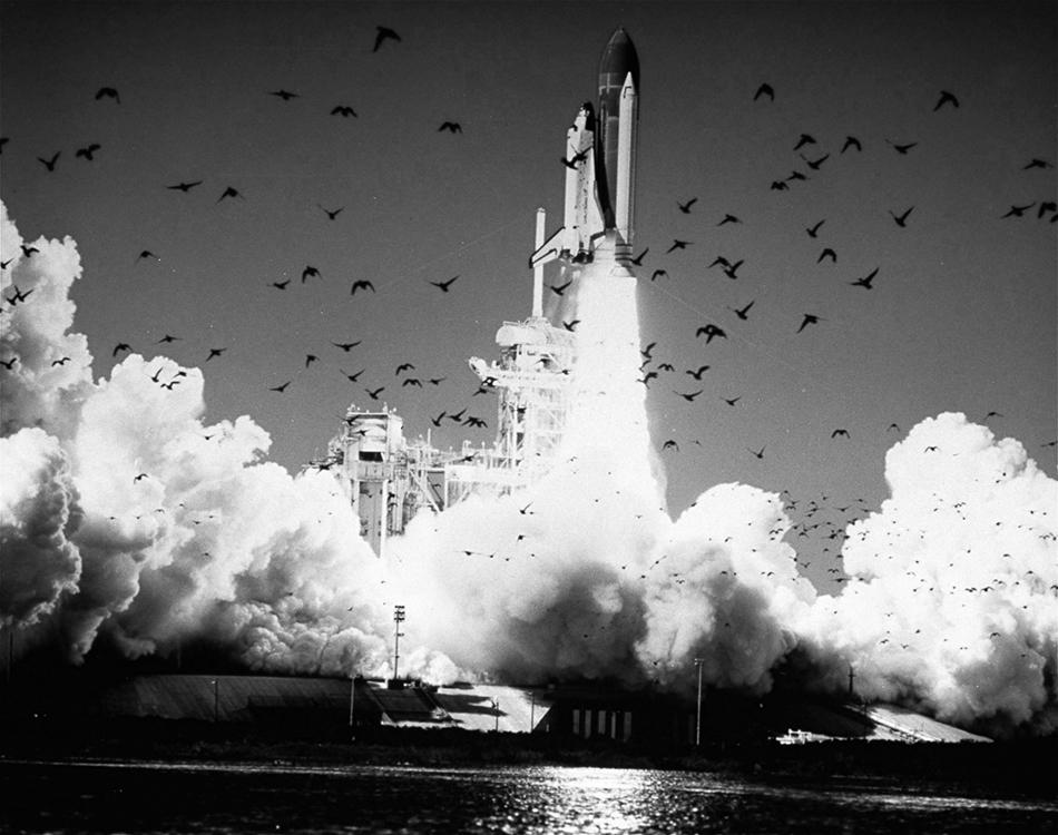"""终抵群星"""":图忆挑战者号航天飞机失事"""