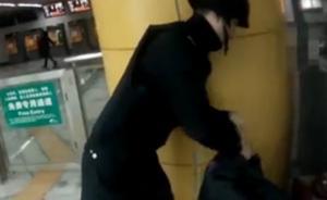 大学生嫌麻烦将拉杆箱遗弃成都地铁站,惊动特警排爆大队