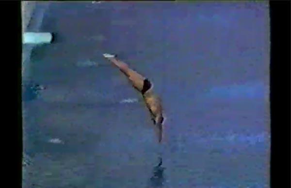 杰森·斯坦森青涩跳水视频