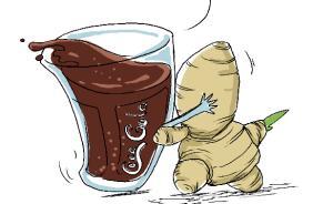 【问答】生姜可乐可以治疗感冒吗?