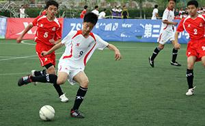 教育部:3年时间把校园足球定点学校从5000余扩至2万所
