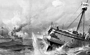 多媒体全景重现甲午海战