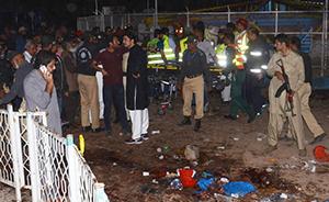 巴基斯坦复活节遭炸弹袭击已65人死,激进组织称针对基督徒