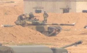 讲武谈兵|T-90坦克在叙被击中,对我主动防护系统的启示
