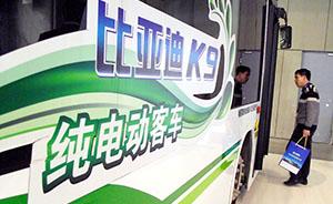 比亚迪联手广汽造新能源客车,万庆良曾推动