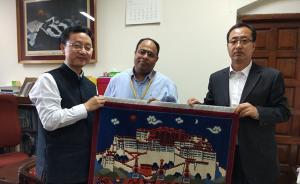刘劲松出任中国驻印度使馆临时代办