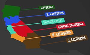 美国加州会一分为六吗?