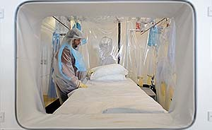连线 无国界医生:已耗尽人力,对抗埃博拉需更多官方行动