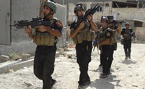 外交部:中国支持伊拉克打击恐怖主义