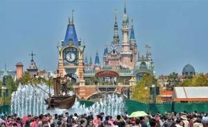 """迪士尼配套景区五一试开放遇不文明,有游客刻下""""到此一游"""""""