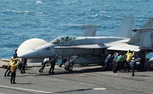 """空袭""""伊斯兰国""""胜算几何?盘点美国海湾地区战力部署"""