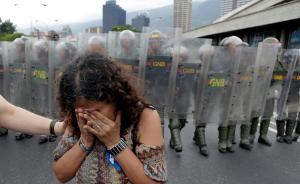委国危机|反对派领导人向军队喊话:你们选宪法还是选总统