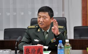 张绘武任新疆军区政治工作部副主任,汶川地震时率部赴重灾区