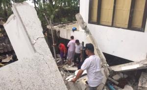 泰国象岛一酒店坍塌致1名游客死亡7人被埋,国籍尚不清楚