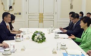 马云半年三访韩国:见了总统朴槿惠,入股Line或有戏
