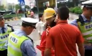 广东警方回应一协管员执法中击落女子头盔:已道歉赔偿并和解