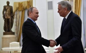 """法国外长:""""明斯克协议""""未履行,欧盟或将继续制裁俄罗斯"""
