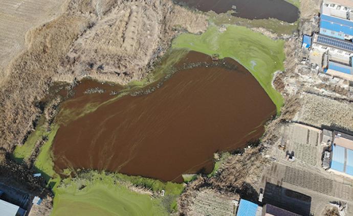霸州通报坑塘水体颜色异常:初步确定主因为石油施工作业等