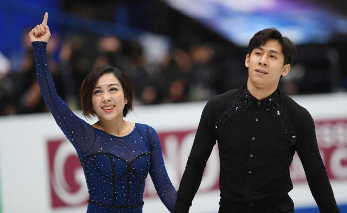 中國選手隋文靜、韓聰花樣滑冰大獎賽總決賽首次奪冠