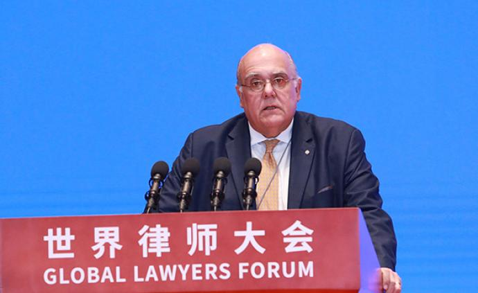 國際律師協會會長:越來越多中國律師成為國際律協個人會員