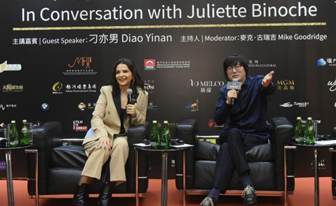是枝裕和新片《真相》亮相澳門國際影展,比諾什著迷中國文化