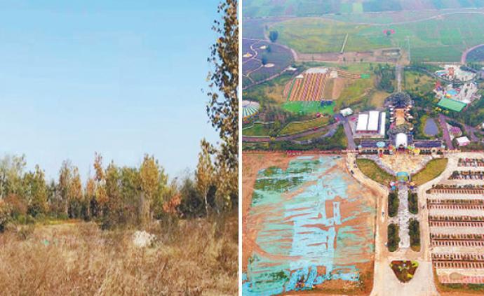 黃河堤內游樂園終于拆了:曾不到兩年被處罰9次依然頂風上馬