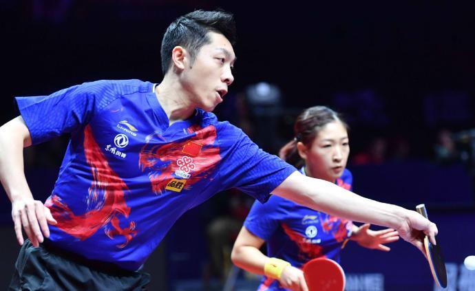 许昕刘诗雯组合轻松取胜,拿下东京奥运会混双资格