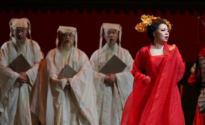 """今晚,聽和慧中國首演""""中國公主""""圖蘭朵"""