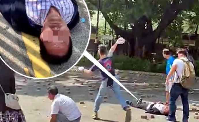落网!涉嫌扔砖砸死香港七旬老人,5名暴徒被捕最小仅15岁