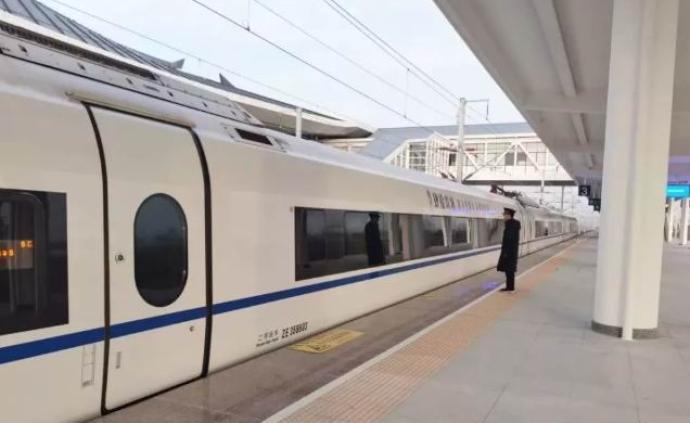 徐盐高铁12月16日开通运营,苏北苏中地区接入全国高铁网