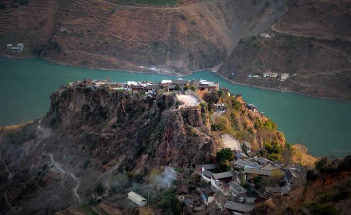 納西發源地,麗江石頭城