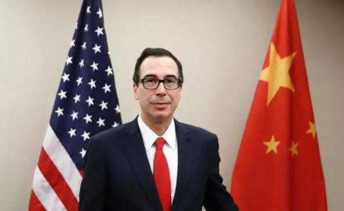 美財長:中美就第一階段經貿協議文本達成一致利好全球發展