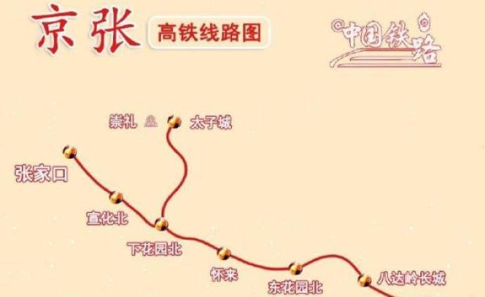 世界首座進入奧運村的高鐵站:京張高鐵太子城站