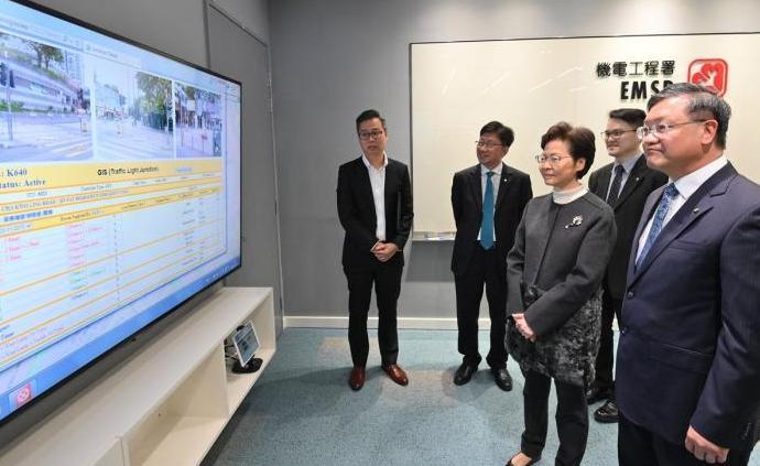 林鄭月娥:暴徒破壞交通燈設施,維修開支達3000萬港元
