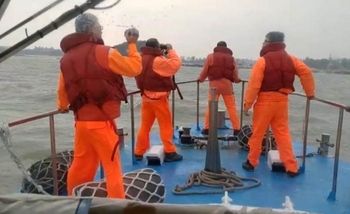 大陸漁船在金門馬山海域翻覆,船上5人落水失蹤