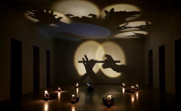 上戲舞蹈學院畢業大戲《影子劇院》:在光與影中玩一場游戲