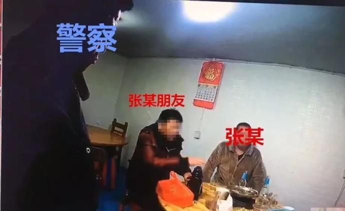 """湖南男子稱""""派出所有熟人"""",撥打110后因報假警反被銬走"""