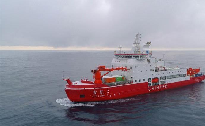 歷時37天,中國南極考察隊順利完成宇航員海綜合科考