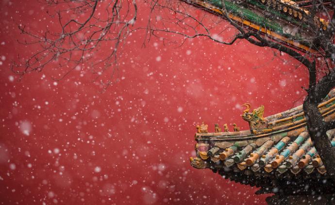 北京迎来了2020年的第一场雪,快揣上好心情去打卡吧