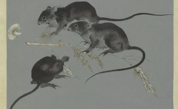 """寻找分藏在上博不同展厅的""""吐宝鼠""""等五件鼠文物"""