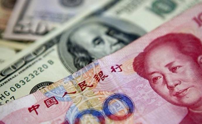 人民币即期汇率升破6.85,今年以来升值超过1.6%