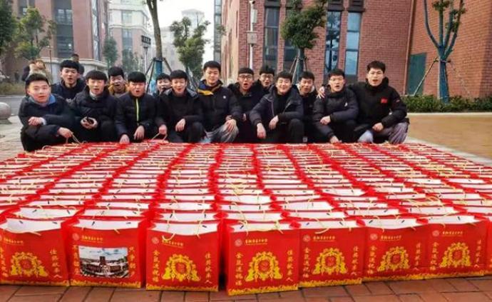 安徽一中学期末发出11000斤猪肉奖优,1/3学生获奖